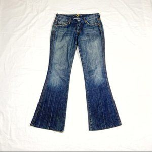 7 For All Mankind A-Pocket Jeans Size 28 GUC